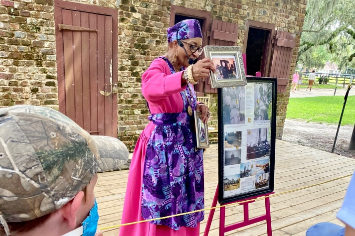 Learning the Family History of the Gullah Historian