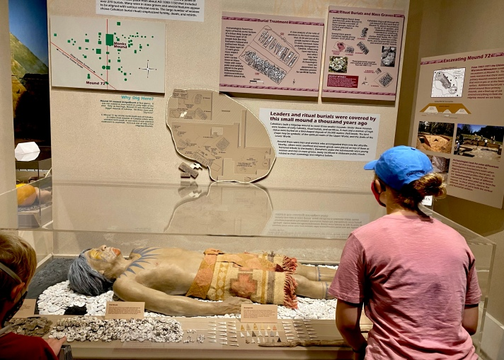 Learning about burial practices at Cahokia