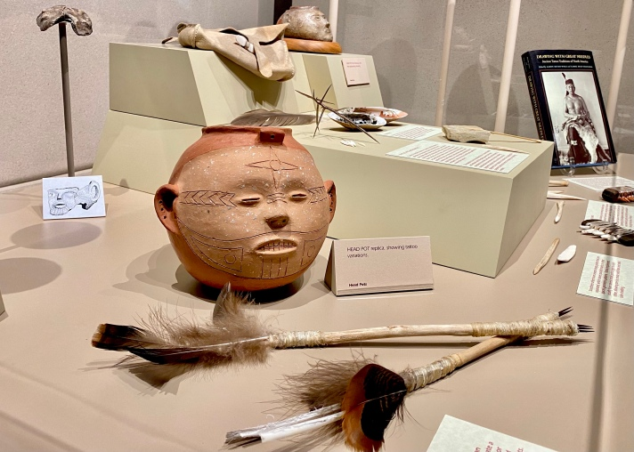 Native American artifacts from Cahokia Mounds