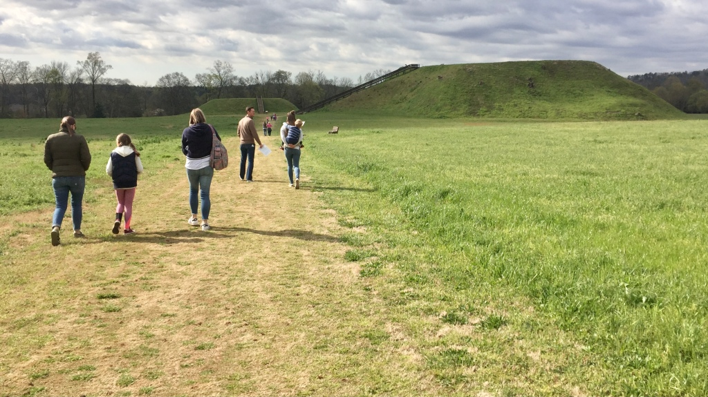 Walking the Etowah Trail to the Plaza and Mounds