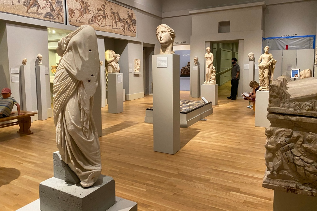 Greek and Roman Sculptures and Mosaics at the Carlos Museum