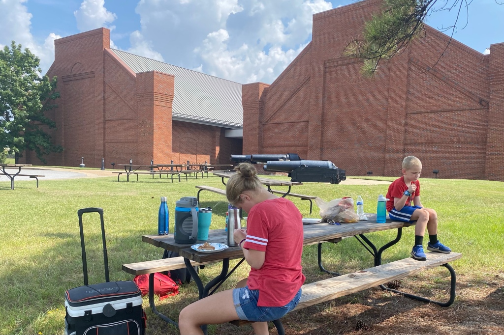 Picnic Tables and Cannons at the Civil War Naval Museum
